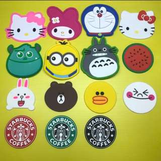 Cute Silicone Cup Coaster