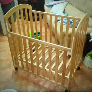 Evenflo 原木嬰兒床 (BB床)