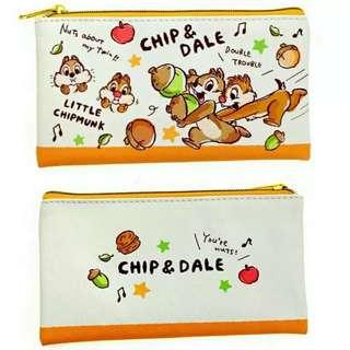 chip N dale 筆袋 化妝袋