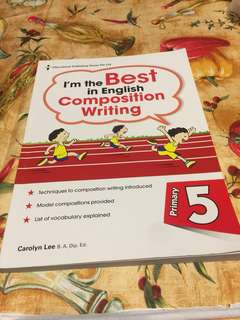Pri 5, I'm the Best in English Composition Writing