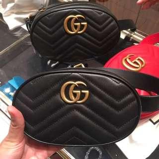 Gucci marmont 腰包 belt bag big size