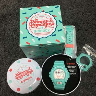 CASIO G-SHOCK GD-X6900JC JOHNNY CUPCAKES 日版 特別版
