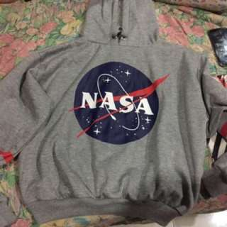 NASA Sweater hoodie swatshirt look like bershka h&m