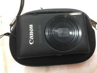 Canon IXUS 220 HS Camera #feb50