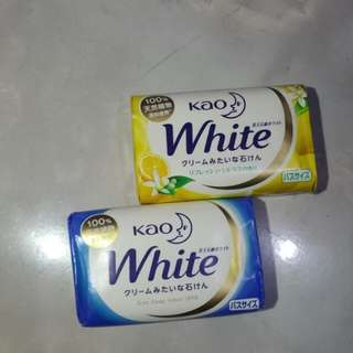 KAO WHITE SOAP FROM JAPAN!!