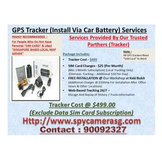 Gps tracker 3G Fixed Inside Car