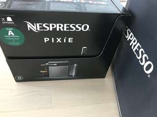 100%全新未開箱, 咖啡機 , NESPRESSO PIXIE, Coffee Machine