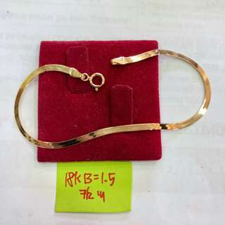 Heringbone bracelet