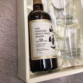 山崎10年(絶版禮盒裝)