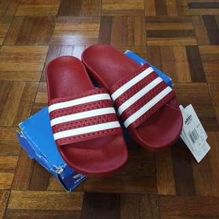Adidas Originals Adilette Woman Sandals Red