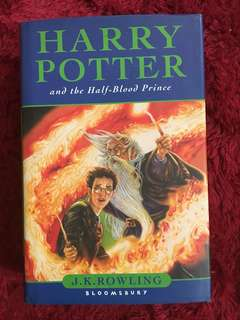 Harry potter and the half blood prince (bloomsbury)