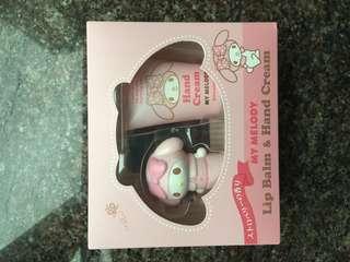 Hello kitty lip balm & hand cream
