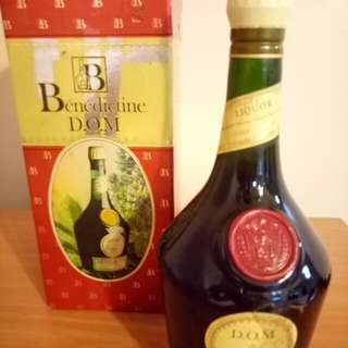 Old Vintage D. O. M Benedictine 750ml (sealed)