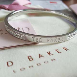 Ted Baker crystal band bangle 手鈪 *全新*