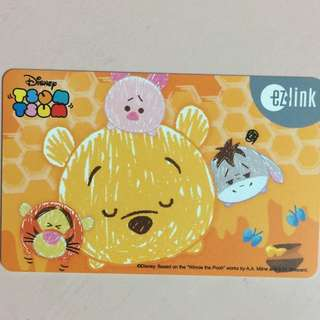 Limited Edition brand new Winnie The Pooh ezlink Card For $12.90.