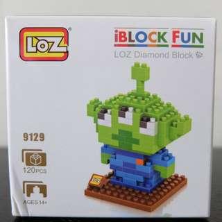 LOZ iBlock Fun Lego 樂高積木三眼仔