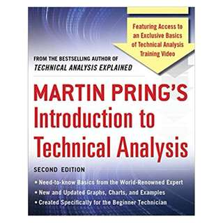 Martin Pring's Introduction to Technical Analysis, 2nd Edition 2nd Edition, Kindle Edition by Martin J. Pring (Author)
