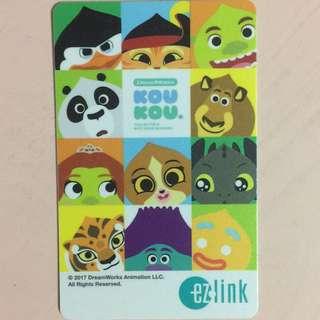 Limited Edition brand new KOU KOU Design ezlink Card For $12.