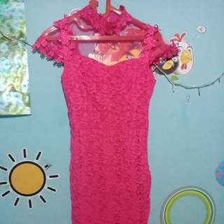 Dress pink like new