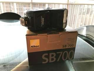 Nikon SB700 flashlight