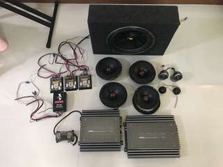 Honda Stream full Car Audio System