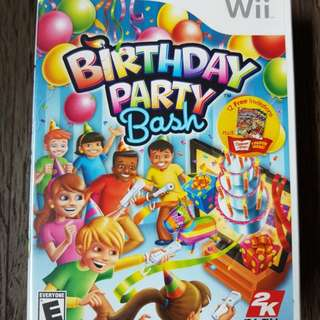 Wii Birthday Party Bash