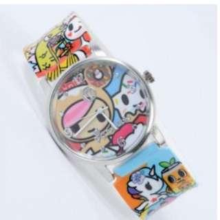 Tokidoki Buffet Snap Watch - Authentic