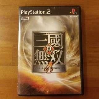 PS2 真·三國無雙4
