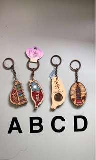 Taiwan keychain souvenir