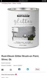 Looking for: Rust-Oleum Glitter Paint series
