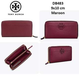 RESTOCK! Tory Burch McGraw Wallet Original Authentic