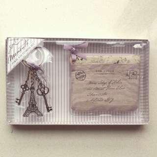 銀包匙扣礼盒purse and keyring set
