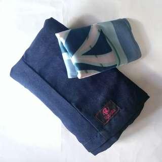 Celana kulot + scarf