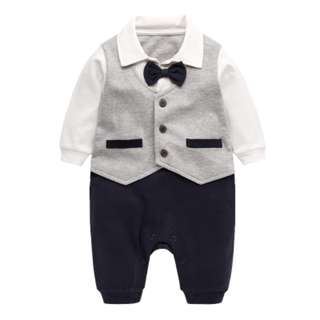 BabyBitbit |Baby Boy 100% Cotton Suit Jumpsuit |B1008