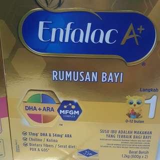 Enfalac A+ step 1 & step 2