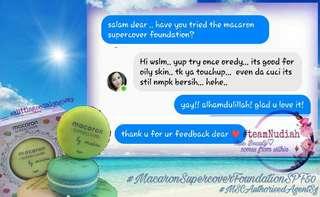 #1 Macaron Supercover Foundation
