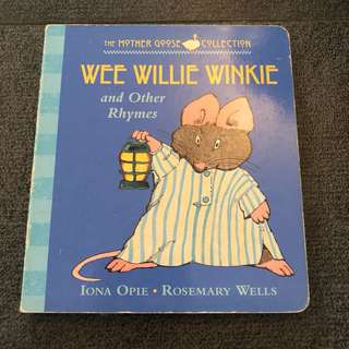 2-4Y GUC Wee Willie Winkie board book