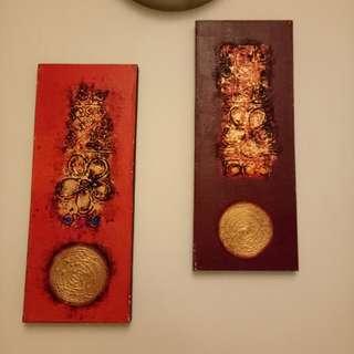 Wall Art Decoration (2pcs in set)