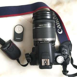 Canon EOS 500D with EFS 18-200mm lens