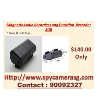 Audio Recorder Long Hours Recording in house or Car