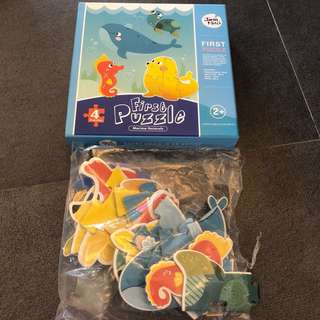 1-3Y EUC Joan Miro Puzzle Marine