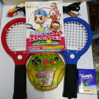 中古Epoch 廠日版 Excity Tennis Games 城市網球 電視互動遊戲 一套購自日本
