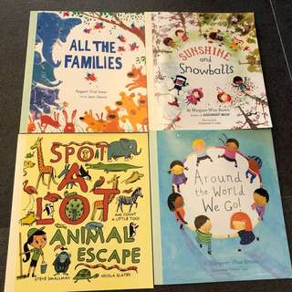 3-5Y NEW 4X Book Bundle Parragon pocket sized