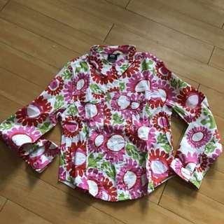 Emma Tricot Floral button down