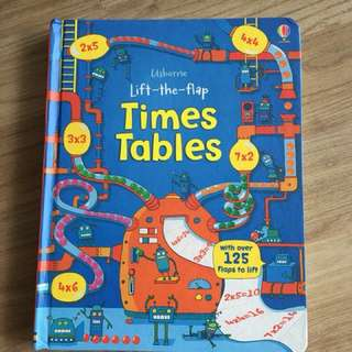 Usborne Times Tables *Brand New*