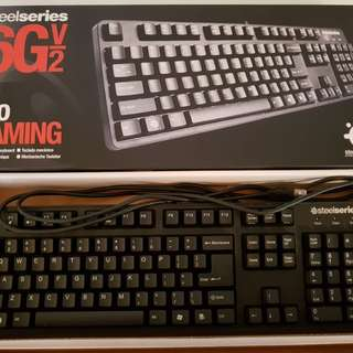 Gaming Keyboard Steelseries 6GV2