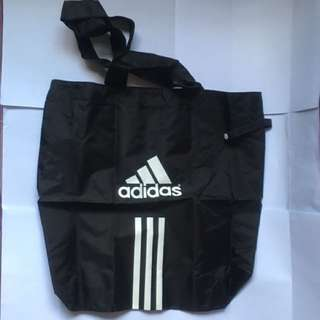 Adidas foldable shopper bag 可折疊購物袋
