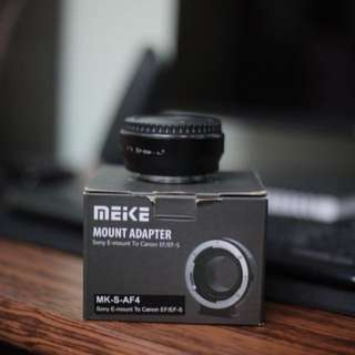 (Reduced price) Meike (Canon to Sony emount adaptor)