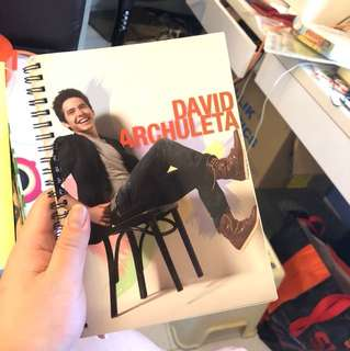 David Archuleta Notebook