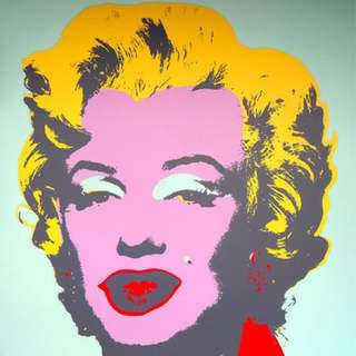 Andy Warhol Authentic 'Marilyn Monroe' Print